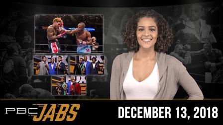 PBC Jabs: December 13, 2018