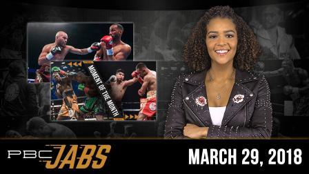 PBC Jabs: March 29, 2018