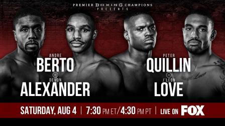 Berto vs Alexander Preview: August 4, 2018 - PBC on FOX