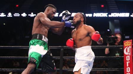 Ajagba vs Jones - Watch Video Highlights | September 30, 2018