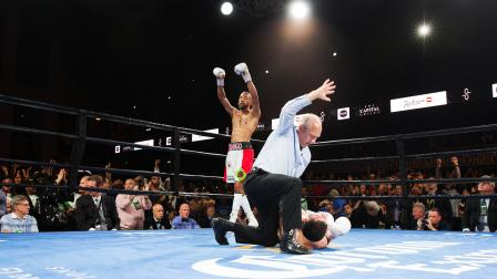 James vs Montes - Watch Video Highlights | August 24, 2018