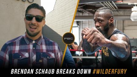 Brendan Schaub breaks down Wilder vs Fury