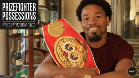 Prizefighter Possessions - Shawn Porter