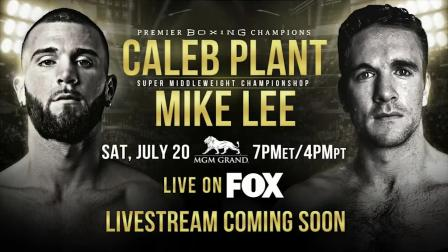 Plant vs Lee - PBC on FOX Press Conference