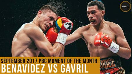 September 2017 Moment of the Month: Benavidez vs Gavril