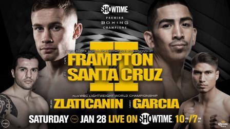 Frampton vs Santa Cruz 2 PREVIEW: January 28, 2017 - PBC on Showtime