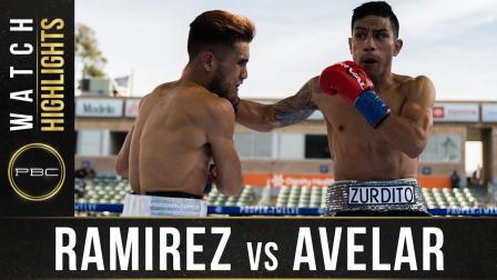 Ramirez vs Avelar - Watch Fight Highlights   May 1, 2021