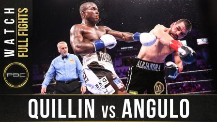 Quillin vs Angulo - Watch Full Fight | September 21, 2019