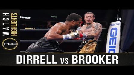 Dirrell vs Brooker - Watch Fight Highlights | July 31, 2021