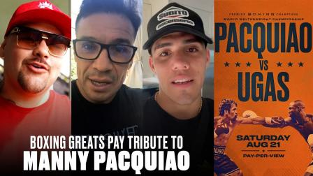 Boxing Greats Pay Tribute to Manny Pacquiao