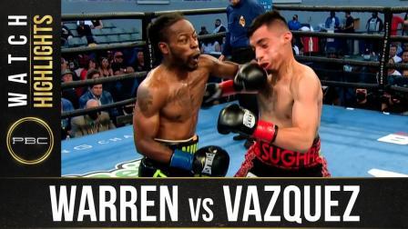 Warren vs Vazquez HIGHLIGHTS: August 14, 2021 | PBC on SHOWTIME