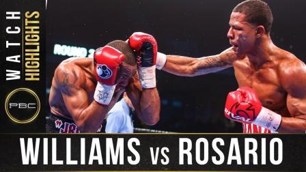 Williams vs Rosario - Watch Fight Highlights   January 18, 2020