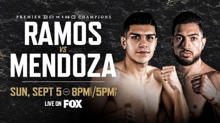 Ramos vs Mendoza PREVIEW: September 5, 2021   PBC on FOX