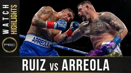 Ruiz  vs Arreola - Watch Fight Highlights | May 1, 2021