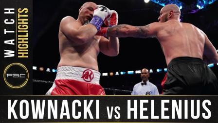 Kownacki vs Helnius - Watch Fight Highlights | March 7, 2020