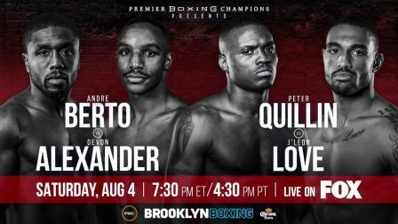 Quillin vs Love Full Fight: August 4, 2018 - PBC on FOX