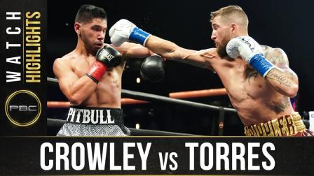 Crowley vs Torres - Watch Fight Highlights | September 6, 2020