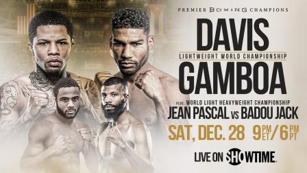 Davis vs Gamboa Preview: December 28, 2019 - PBC on Showtime