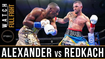 Alexander vs Redkach - Full Fight | June 1, 2019