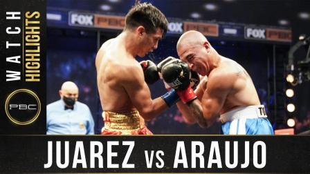Juarez vs Araujos - Watch Fight Highlights | April 17, 2021