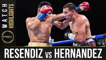 Resendiz vs Hernandez HIGHLIGHTS: September 5, 2021   PBC on FOX