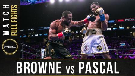 Browne vs Pascal - Watch Full Fight | August 3, 2019