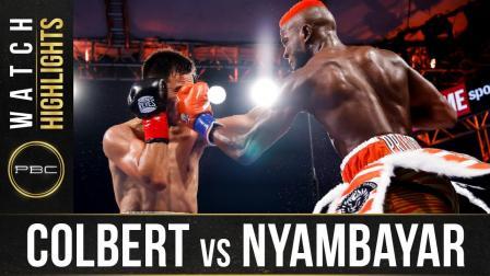 Colbert vs Nyambayar - Watch Fight Highlights | July 3, 2021