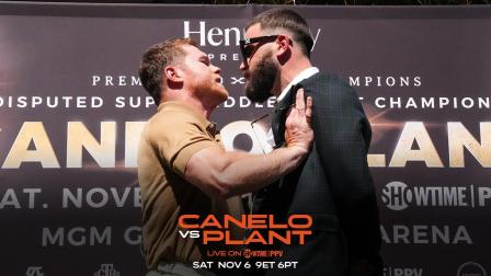 Canelo vs Plant: The War of Words Before the Battle of Wills on November 6