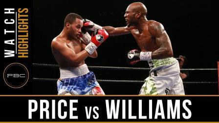 Price vs Williams Highlights: February 21, 2017