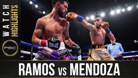 Ramos vs Mendoza HIGHLIGHTS: September 5, 2021   PBC on FOX