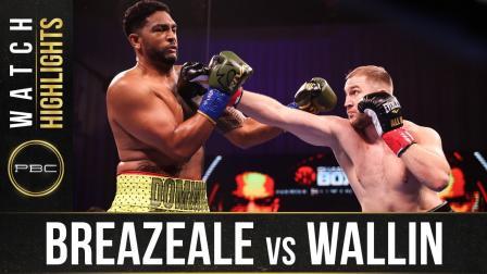 Breazeale vs Wallin - Watch Fight Highlights | February 20, 2021