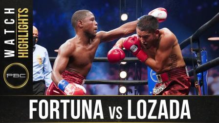 Fortuna vs Lozada - Watch Fight Highlights | November 21, 2020