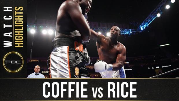 Coffie vs Rice - Watch Fight Highlights | July 31, 2021