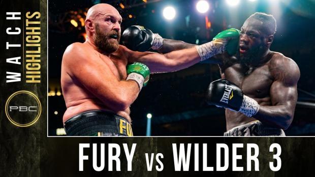 Tyson Fury vs Deontay Wilder TRILOGY HIGHLIGHTS: October 9, 2021