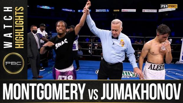 Montgomery vs Jumakhonov HIGHLIGHTS: September 19, 2021 | PBC on FS1